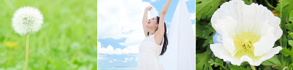 埼玉で心理カウンセリングなら | 花と笑顔の女性